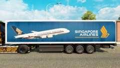 Singapore Airlines skin für Trailer