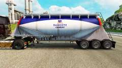 Skin Dangote Cement cement semi-trailer