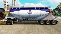 Skin Dangote Cement cement semi-trailer