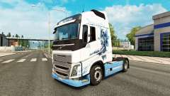 Le Vaya con Dios de la peau pour Volvo camion