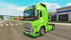 Apporter de la peau pour Volvo camion