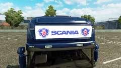 La publicité boîte à lumière pour Scania Streaml