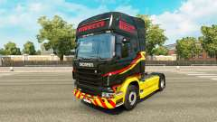 Pirelli skin für Scania-LKW