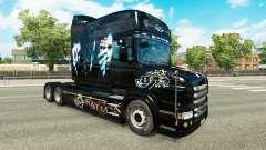 Batman-skin für den truck Scania T