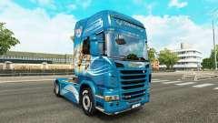Haut Der Griffon Zugmaschine Scania