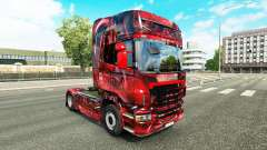 Hintergrund de la peau pour Scania camion