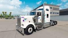 Скин FedEx Custom Critical на Kenworth W900