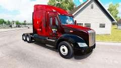 Valor skin für den truck Peterbilt 579