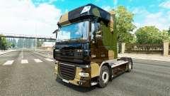 Camo peau pour DAF camion
