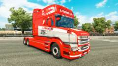 Haut S. Verbeek & ZN. für truck Scania T