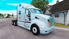 Mercer de la peau pour le camion Peterbilt 387