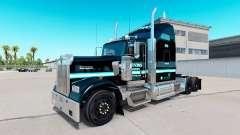 La peau Ervins de Transport sur camion Kenworth