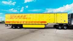 Haut DHL für Vorhangfassaden semi-trailer