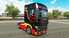 Pirelli peau pour Scania camion R700