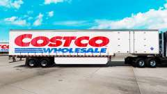 Haut bei Costco Wholesale curtain semi trailer