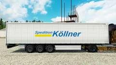 La peau Spedition Kollner sur semi