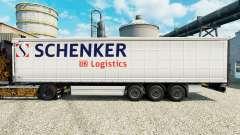 Haut Schenker Logistics und Trailern