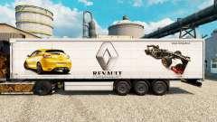 La peau Renault F1 Team v2 sur le semi