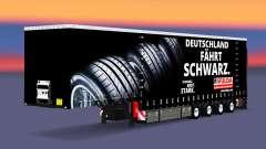 Krone Vorhang semi-trailer-Fulda