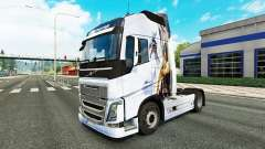 La peau Drache v1.1 tracteur Volvo