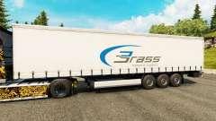 Haut Messing-Transport-Logistik für Anhänger
