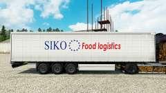 Haut Siko Food Logistics für Anhänger