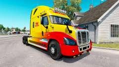Haut DHL für Zugmaschine Freightliner Cascadia