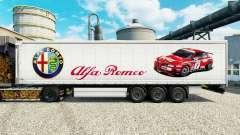 Haut-Alfa Romeo Sport auf halb