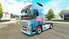 Harnas-skin für den Volvo truck