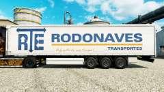 RTE Rodonaves Transportes de la peau pour les re