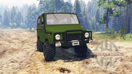 LuAZ-969М für Spin Tires