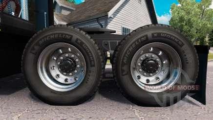 Neue Felgen und Reifen für American Truck Simulator