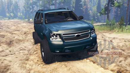 Chevrolet Tahoe 2008 pour Spin Tires