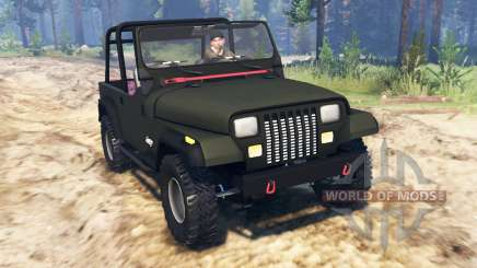 Jeep YJ 1991 pour Spin Tires