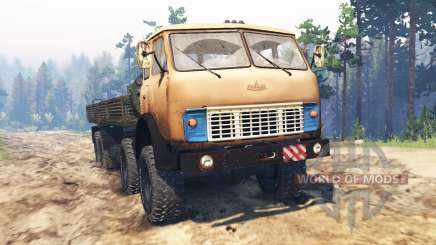 MAZ-515Р 8x8 für Spin Tires