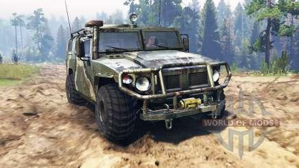 GAZ-2330 Tiger pour Spin Tires
