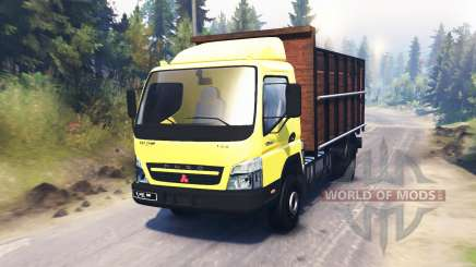 Mitsubishi Fuso Canter (FE7) pour Spin Tires