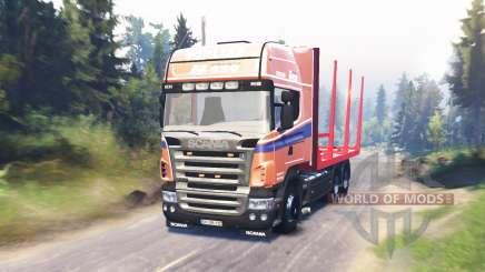 Scania R620 für Spin Tires