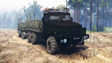 KRAZ-260 für Spin Tires