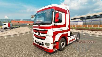 Haut-Metallic für Traktor Mercedes-Benz für Euro Truck Simulator 2
