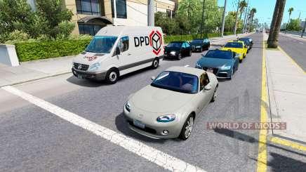 Advanced traffic v1.4 für American Truck Simulator