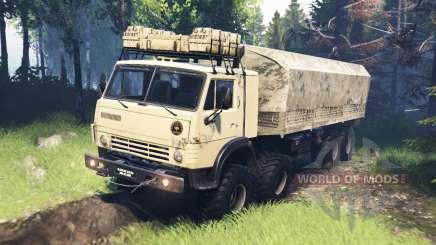 KamAZ-63501-996 Mustang v5.0 für Spin Tires