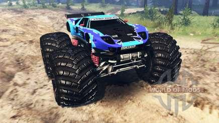 Ford GT [monster truck] für Spin Tires