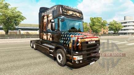 La peau du Canard Dynastie pour camion Scania T pour Euro Truck Simulator 2