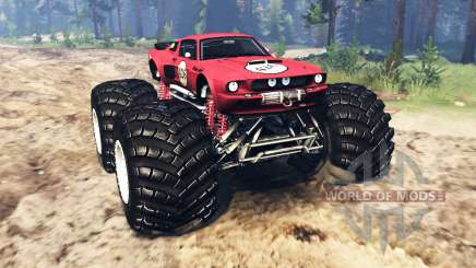 Ford Mustang Shelby GT500 [monster truck] für Spin Tires