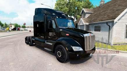 La peau Taylor Express camion Peterbilt 579 pour American Truck Simulator