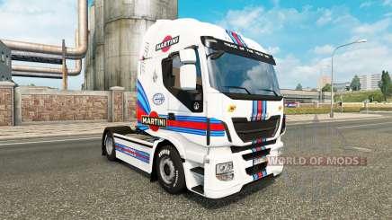 Martini Racing de la peau pour Iveco tracteur pour Euro Truck Simulator 2