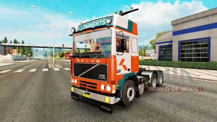 Volvo F10 Lommerts pour Euro Truck Simulator 2
