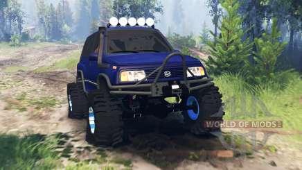 Suzuki Grand Vitara v4.0 pour Spin Tires