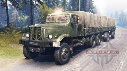 KrAZ-255 main für Spin Tires